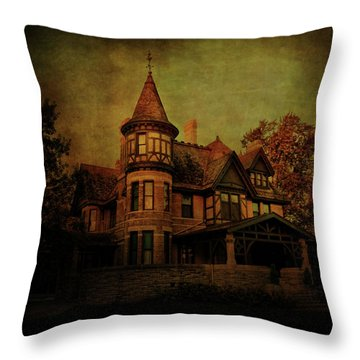 Historic House Throw Pillow by Joel Witmeyer