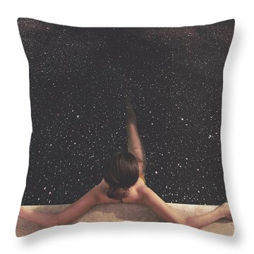 Holynight Throw Pillow by Fran Rodriguez