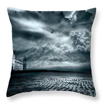 Home Throw Pillow by Jacky Gerritsen