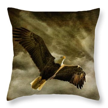 Honor Bound Throw Pillow by Lois Bryan