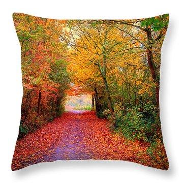 Hope Throw Pillow by Jacky Gerritsen