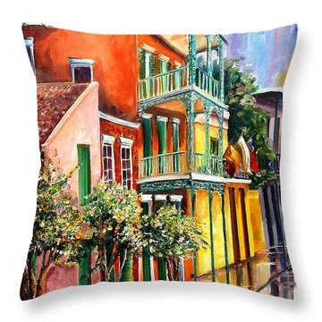House Of The Rising Sun Throw Pillow by Diane Millsap