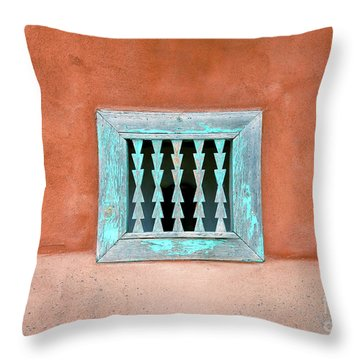 House Of Zuni Throw Pillow by David Lee Thompson