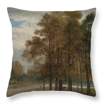 Hyde Park Throw Pillow by John Martin
