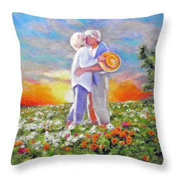 I Love You Darling Throw Pillow by Michael Durst