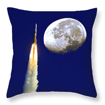 I Need My Space Throw Pillow by Roger Wedegis