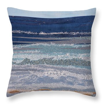 Icarus Flying Throw Pillow by Stanza Widen
