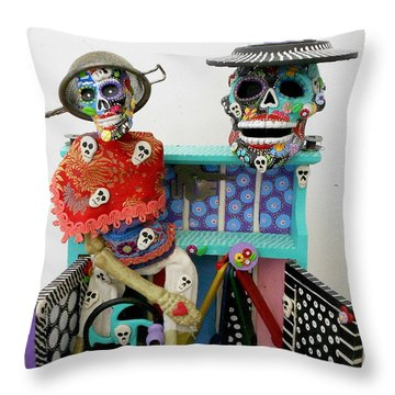 I'd Give My Right Arm For You Throw Pillow by Keri Joy Colestock