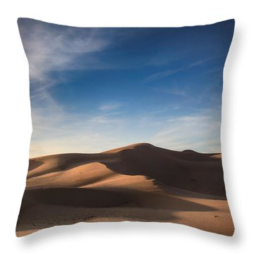I'd Walk A Thousand Miles Throw Pillow by Laurie Search
