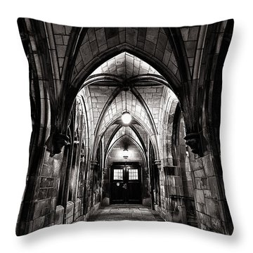 If These Walls Could Talk Throw Pillow by CJ Schmit
