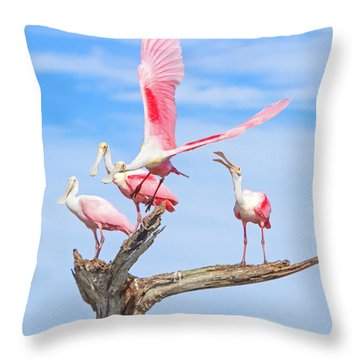 If You Had Wings Throw Pillow by Mark Andrew Thomas