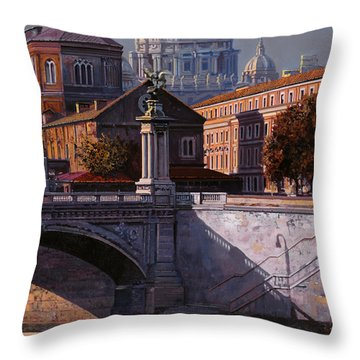 Il Cupolone Throw Pillow by Guido Borelli
