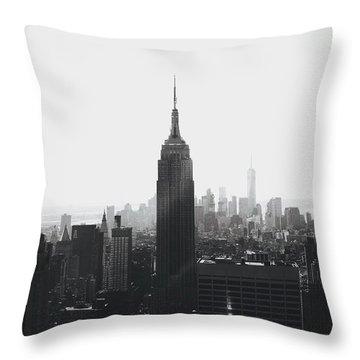 I'll Take Manhattan  Throw Pillow by J Montrice