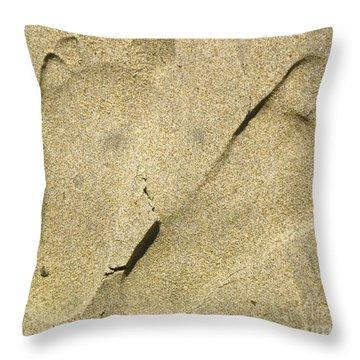Illusionary Feet Throw Pillow by Gwyn Newcombe