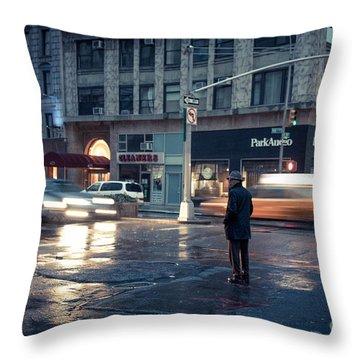 In A Bubble Throw Pillow by John Farnan