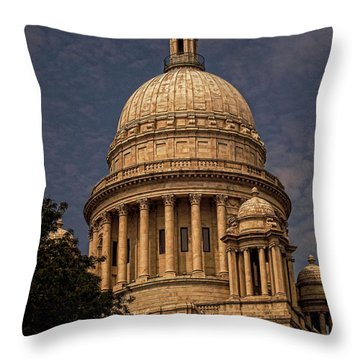 Independent Man Throw Pillow by Lourry Legarde