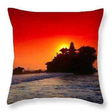 Indonesia, Bali Throw Pillow by Gloria & Richard Maschmeyer - Printscapes
