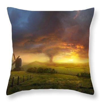 Infinite Oz Throw Pillow by Philip Straub