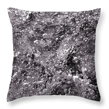Infinity Bw Throw Pillow by Sami Tiainen