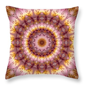 Inspiration Throw Pillow by Bell And Todd