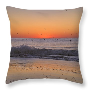 Inspiring Moments Throw Pillow by Betsy Knapp