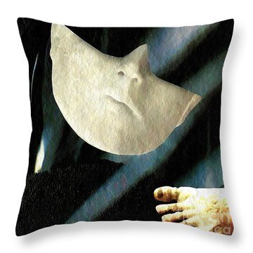 Intrusion Throw Pillow by Sarah Loft