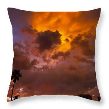 Intuition Throw Pillow by Skip Hunt