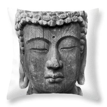 Japan: Buddha Throw Pillow by Granger