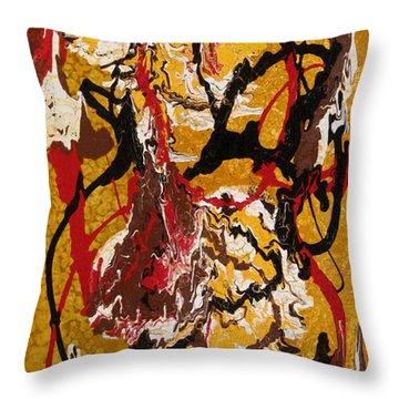 Joe Sweet Throw Pillow by Jill English