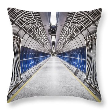 Journey To The Center Of Your Mind Throw Pillow by Evelina Kremsdorf