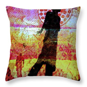 June 12 2010 Throw Pillow by Tara Turner