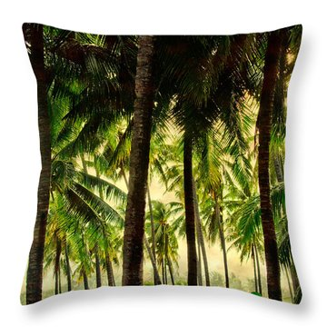Jungle Paradise Throw Pillow by James BO  Insogna