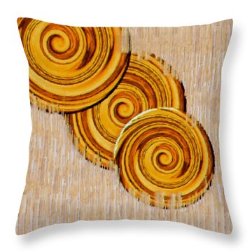 Just Bread Throw Pillow by Pepita Selles