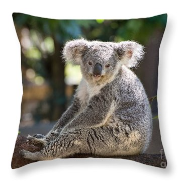 Just Relax Throw Pillow by Jamie Pham