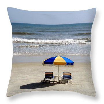 Just The Two Of Us Throw Pillow by David Lee Thompson