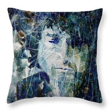 Knocking On Heaven's Door Throw Pillow by Paul Lovering