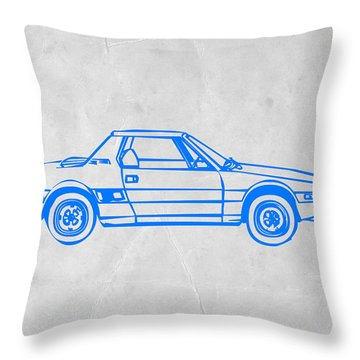 Lancia Stratos Throw Pillow by Naxart Studio