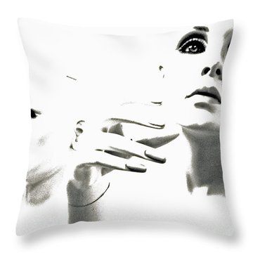 Last Glance Back Throw Pillow by Joe Jake Pratt
