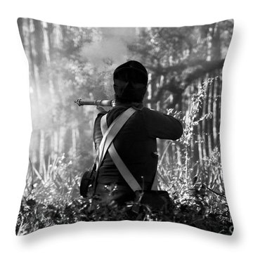 Last Man Standing Throw Pillow by David Lee Thompson