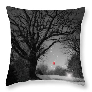 Last Show  Throw Pillow by Cathy  Beharriell
