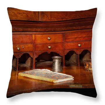 Lawyer  - The Written Law  Throw Pillow by Mike Savad