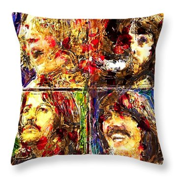 Let It Be Throw Pillow by Russell Pierce