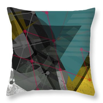 Let There Be Light Throw Pillow by Don Kuing