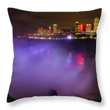 Let There Be Light Throw Pillow by Mark Papke