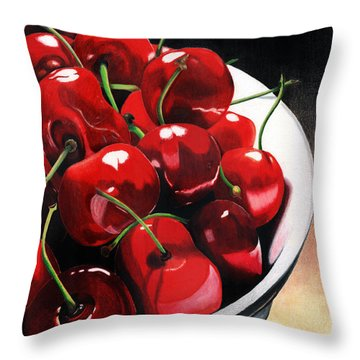 Life Is.... Throw Pillow by Angela Armano