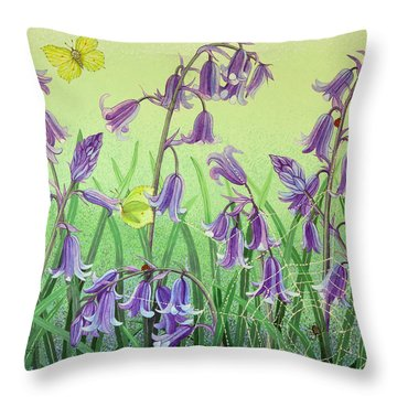 Life Is Everwhere Throw Pillow by Pat Scott