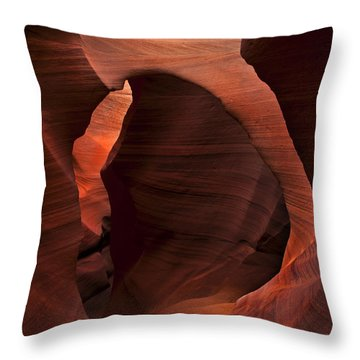 Light At Tne End Of The Tunnel Throw Pillow by Mike  Dawson