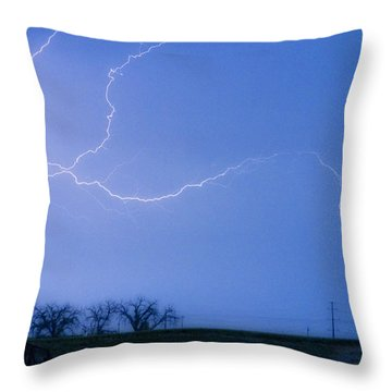 Lightning Crawler Throw Pillow by James BO  Insogna
