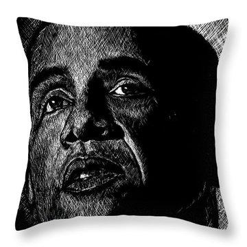 Living The Dream Throw Pillow by Maria Arango
