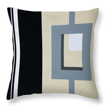 Lock Throw Pillow by Slade Roberts
